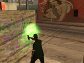 Grove Street is king! Help Sweet to take down Ballas!