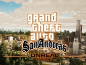 GTA San Andreas v Unreal Engine 4