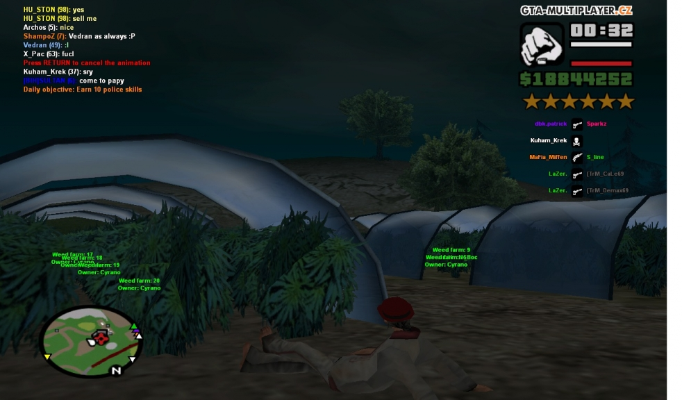 7230041ae20 chilling in my weed farm