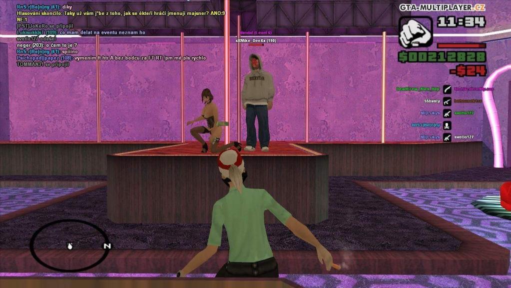 Strip bar game