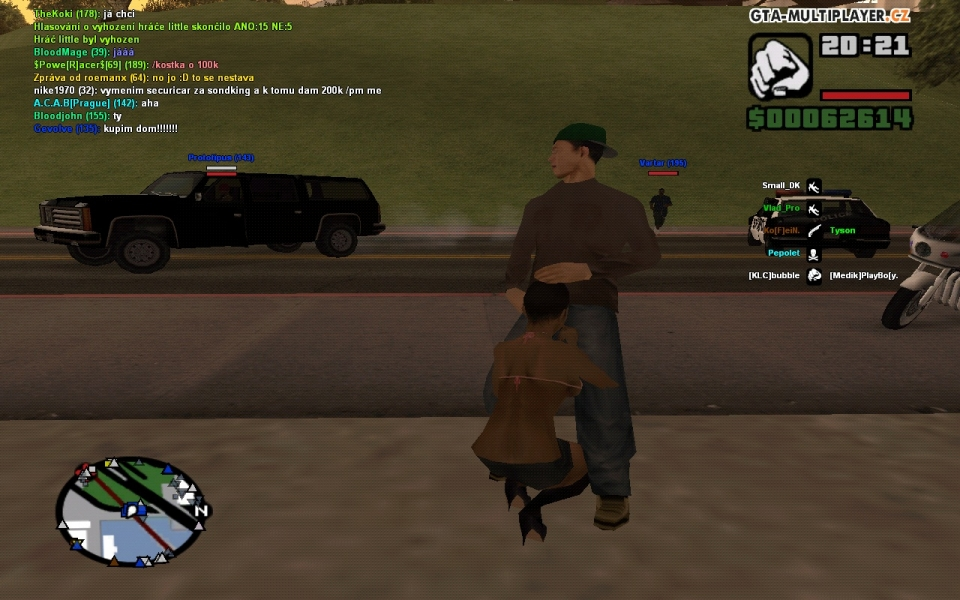 Mods for GTA San Andreas with automatic installation