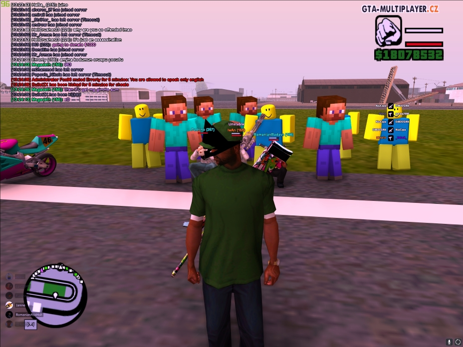 Roblox And Minecraft Party -