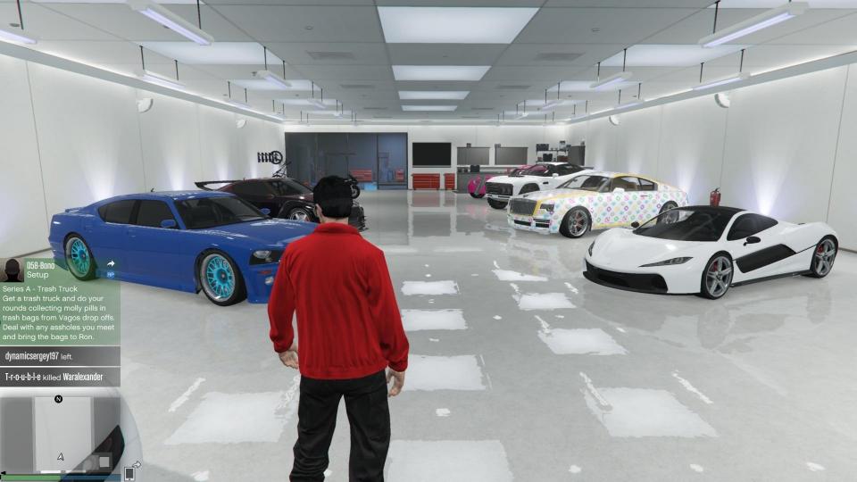 Gta5 online garage for Garajes gta v online
