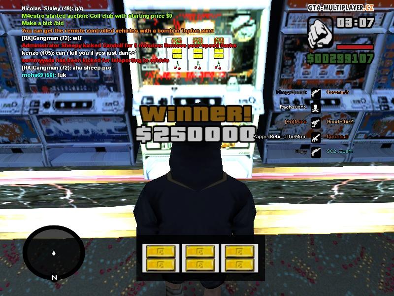 250K in Slots Finally