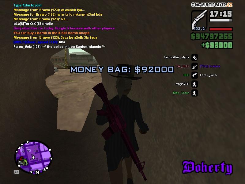 money bag gta 5 online