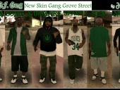 New Skin Gang Grove Street!
