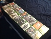 My big collection of xbox 360 games