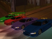 Just Infernus in 4 colours
