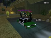 Me, My Friends and the Green Police Car