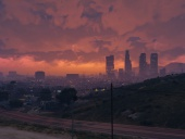 My view of Los Santos