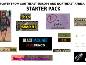 Player from southeast Europe and Northeast Africa STARTER PACK