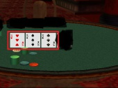While playing poker with Petrit