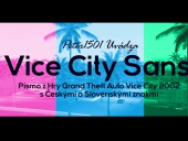 Písmo GTA Vice City-Vice City Sans